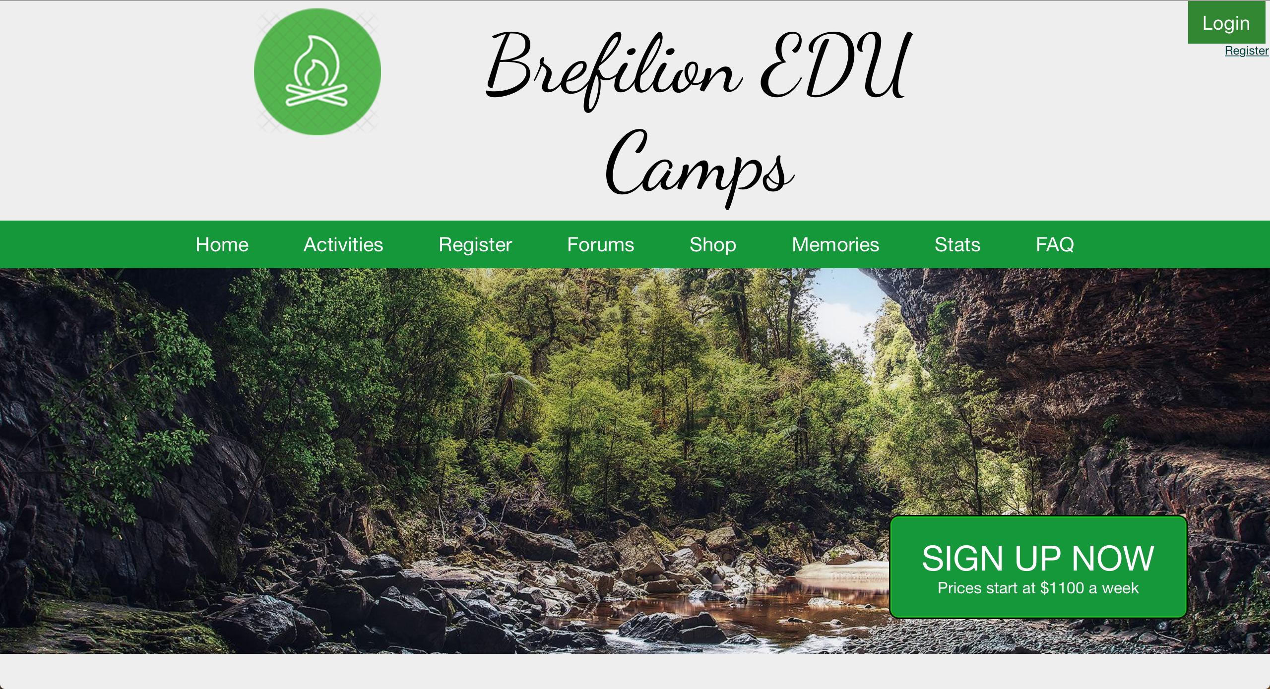 Brefilion EDU Camps Home Page